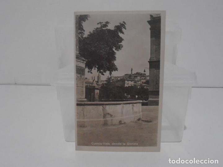 ANTIGUA POSTAL, CUENCA, VISTA DESDE LA GLORIETA, SIN CIRCULAR (Postales - España - Castilla La Mancha Antigua (hasta 1939))