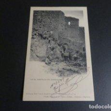 Cartes Postales: CONSUEGRA TOLEDO ACADEMIA DE INFANTERIA EN EL CASTILLO 1906. Lote 216642316
