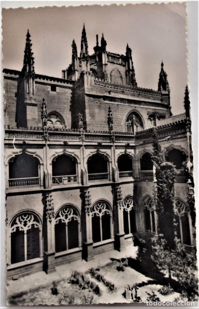 TOLEDO - PATIO DE SAN JUAN DE LOS REYES - HELIOTIPIA ARTISTICA ESPAÑOLA (MADRID) (Postales - España - Castilla la Mancha Moderna (desde 1940))