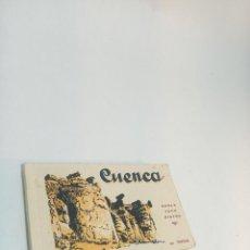 Postales: CARPETA CON TIRA DE 19 POSTALES DE CUENCA. DOBLE TONO BISTRE. L. ROISIN. BARCELONA. SIN CIRCULAR.. Lote 217589013