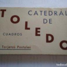 Postales: CATEDRAL DE TOLEDO -CUADROS - LIBRITO 20 POSTALES. Lote 220062753
