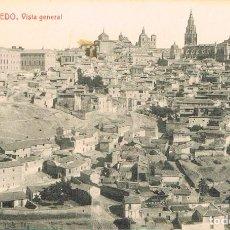 Postales: TOLEDO, VISTA GENERAL, EDITOR: FOTOTIPIA THOMAS Nº 24. Lote 220470193