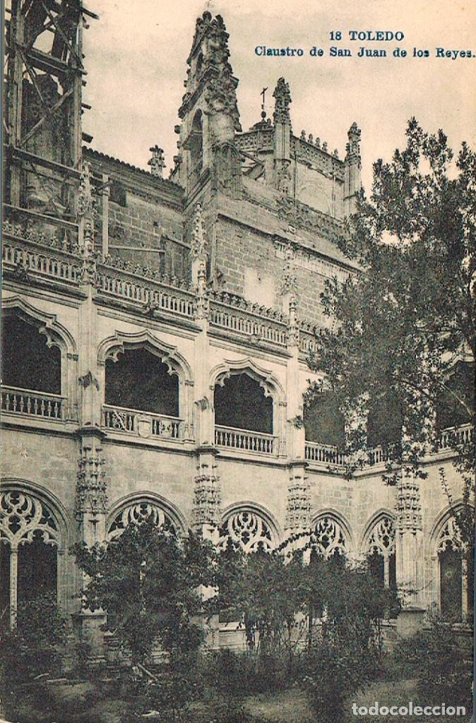 TOLEDO, SAN JUAN DE LOS REYES, CLAUSTRO, EDITOR: LACOSTE. Nº 18 (Postales - España - Castilla La Mancha Antigua (hasta 1939))