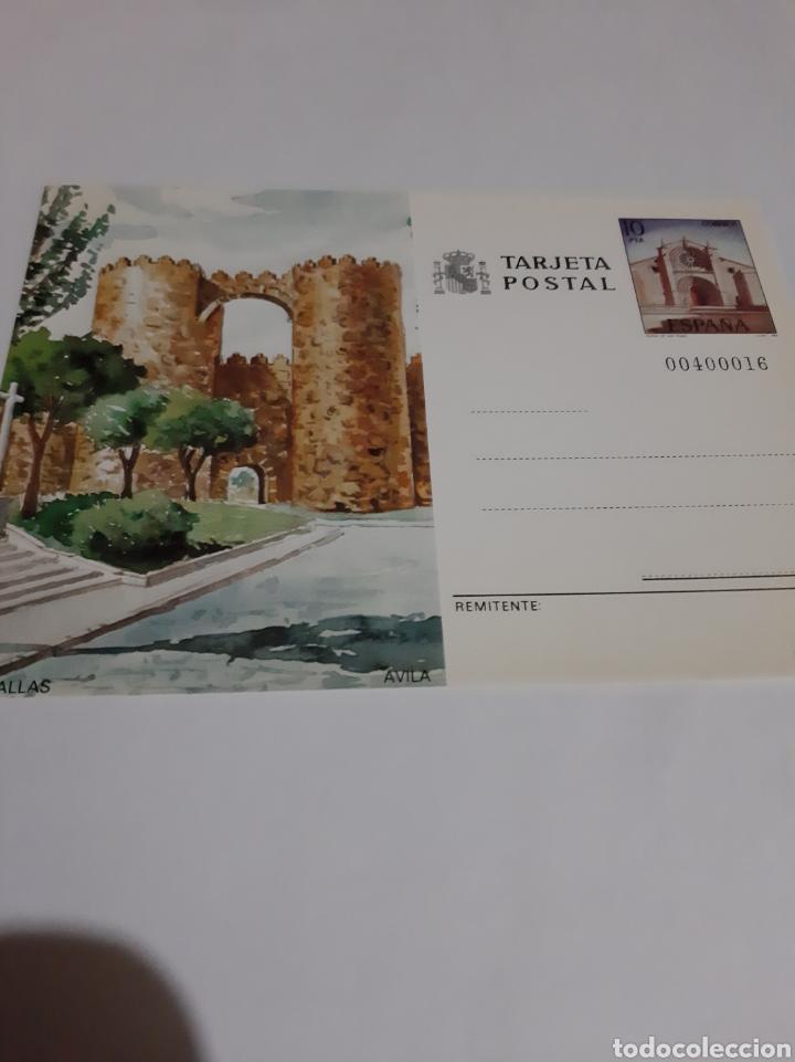 AVILA MURALLAS /IGLESIA SAN PEDRO 1983 ENTERO POSTAL EDIFIL 133 FILATELIA COLISEVM (Postales - España - Castilla la Mancha Moderna (desde 1940))
