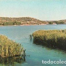Cartes Postales: ANTIGUA POSTAL DE LAS LAGUNAS DE RUIDERA, ENTRE ALBACETE Y CIUDAD REAL. LAGUNA DEL REY. 1966.. Lote 221628782