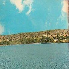 Cartes Postales: ANTIGUA POSTAL DE LAS LAGUNAS DE RUIDERA, ENTRE ALBACETE Y CIUDAD REAL. LAGUNA COLGADA. 1966. Lote 221628787