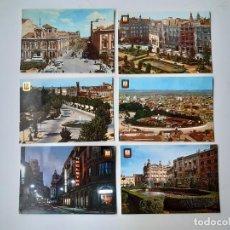 Cartes Postales: 6 POSTALES DE ALBACETE AÑOS 60/70. Lote 221703155