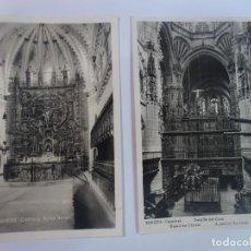 Postales: LOTE DE 2 ANTIGUAS POSTALES FOTOGRÁFICAS, BURGOS , VER FOTOS. Lote 222062395