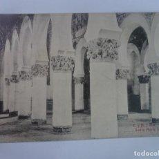 Postales: ANTIGUA POSTAL FOTOGRÁFICA, TOLEDO , SANTA MARÍA LA BLANCA , VER FOTOS. Lote 222063113
