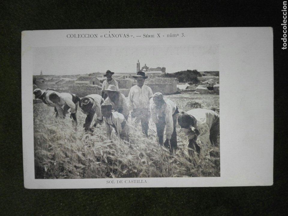 SOL DE CASTILLA, COLECCION CANOVAS SERIE X Nº 3, (Postales - España - Castilla La Mancha Antigua (hasta 1939))