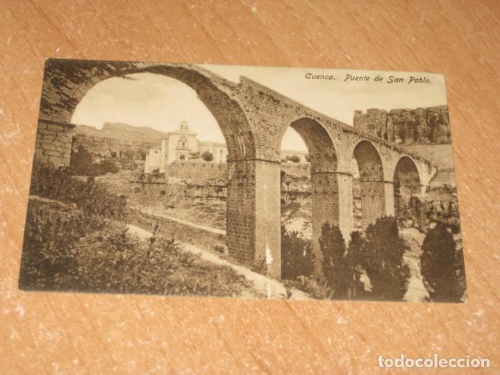 POSTAL DE CUENCA (Postales - España - Castilla La Mancha Antigua (hasta 1939))