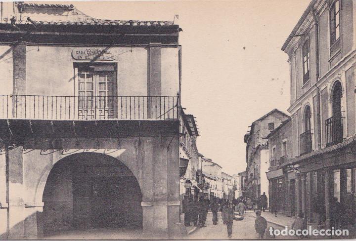 CIUDAD REAL - AYUNTAMIENTO ANTIGUO Y CALLE DEL MERCADO NUEVO (Postales - España - Castilla La Mancha Antigua (hasta 1939))