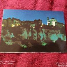 Postales: POSTAL CASAS COLGADAS Y HOZ DEL HUECAR (CUENCA). Lote 222297987