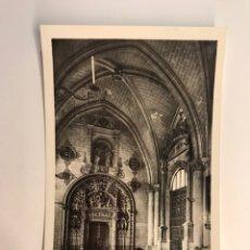 Postales: TOLEDO. POSTAL NO.24, CATEDRAL. NAVE Y PORTADA DEL TESORO. EDIC, F. MOLINA (H.1950?) S/C. Lote 222406113