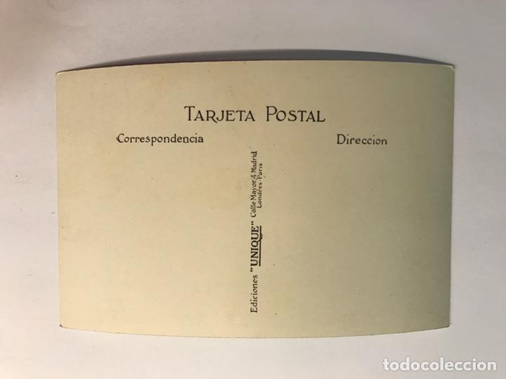 Postales: TOLEDO. Postal No.3134, Hospital de Santa Cruz. Patio y escalera, Edic. UNIQUE (h.1940?) S/C - Foto 2 - 222406261