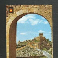 Postales: POSTAL SIN CIRCULAR PARADOR MARQUES DE VILLENA SERIE AZ Nº9 - ALARCON - CUENCA - ED TURISMO. Lote 222412686