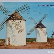 Postales: POSTAL. 778. LA MANCHA. MOLINOS. ED. PARIS. CIRCULADA.. Lote 222429398
