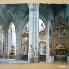 Postales: CUENCA - CATEDRAL. NACA LATERAL (ESCRITA Y CIRCULADA). Lote 222695972