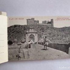 Postales: ALBUM RECUERDO DE TOLEDO . 25 TARJETAS POSTALES . CASTAÑEIRA Y ALVAREZ . MADRID. Lote 223021371