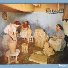 Cartes Postales: ANTIGUA POSTAL - 8 - MESÓN DE DON QUIJOTE - MOTA DEL CUERVO (CUENCA) - TALLER ALFARERO - H.A.E.. Lote 224427996