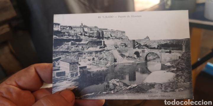 ANTIGUA POSTAL DE TOLEDO PUENTE DE ALCÁNTARA, GONZÁLEZ COMERCIO (Postales - España - Castilla La Mancha Antigua (hasta 1939))