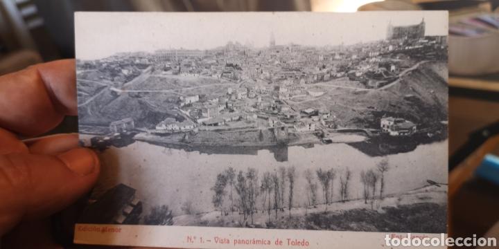 ANTIGUA POSTAL DE TOLEDO, VISTA PANORÁMICA DEL TAJO (Postales - España - Castilla La Mancha Antigua (hasta 1939))