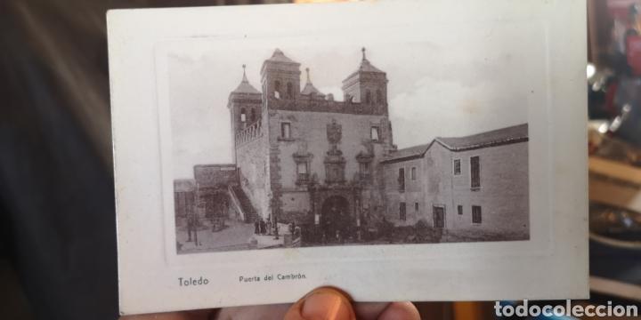 ANTIGUA POSTAL DE TOLEDO PUERTA DEL CAMBRÓN (Postales - España - Castilla La Mancha Antigua (hasta 1939))