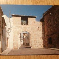 Cartes Postales: POSTAL BELMONTE (CUENCA) 25 PUERTA DEL CRISTO DE LOS AUSENTES. Lote 225023848
