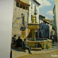 Cartes Postales: POSTAL PASTRANA -FUENTE DE 4 CAÑOS. Lote 225070960