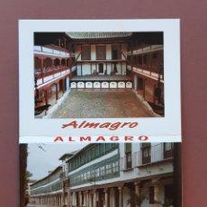 Postales: ALBUM DESPLEGABLE 9 POSTALES. EDICIÓN FITER. ALMAGRO. CIUDAD REAL.. Lote 227043111