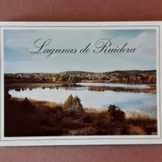 Postales: ALBUM DESPLEGABLE 9 POSTALES ESTUDIO INTERIORISMO DEMO SOLERA. LAGUNAS DE RUIDERA. CIUDAD REAL 1997.. Lote 227044420