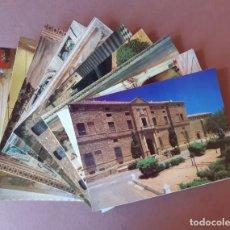 Postales: LOTE 10 POSTALES. PALACIO DE D. ÁLVARO DE BAZÁN. VISO DEL MARQUÉS. CIUDAD REAL. SIN CIRCULAR.. Lote 227061245