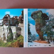 Postales: ALBUM DESPLEGABLE 20 VISTAS. EDICIONES SICÍLIA. CUENCA Y CIUDAD ENCANTADA. 1994.. Lote 227065600