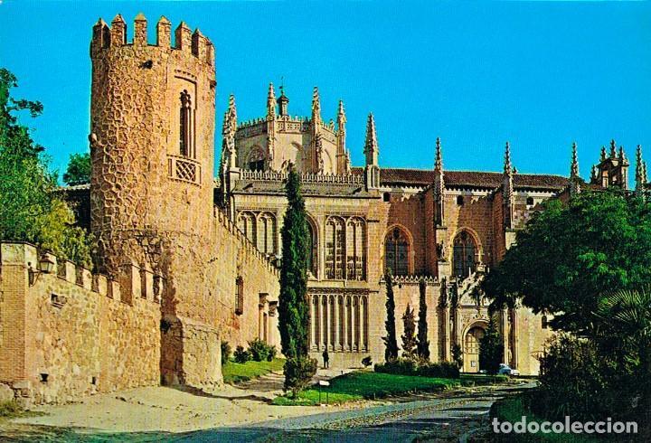 TOLEDO, CASTILLO VISIGODO Y SAN JUAN DE LOS REYES (Postales - España - Castilla la Mancha Moderna (desde 1940))