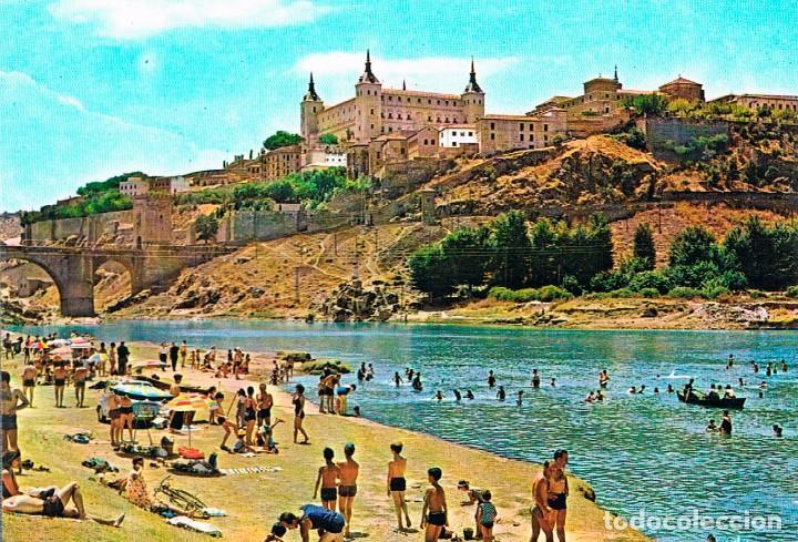 TOLEDO, CALLE SANTA ISABEL Y EL ALCAZAR (Postales - España - Castilla la Mancha Moderna (desde 1940))