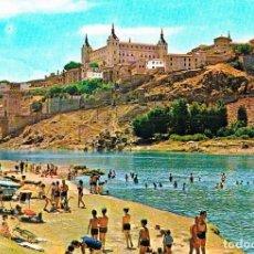 Postales: TOLEDO, CALLE SANTA ISABEL Y EL ALCAZAR. Lote 228006090