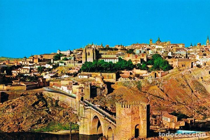 TOLEDO, PUENTE DE SAN MARTIN Y VISTA PARCIAL (Postales - España - Castilla la Mancha Moderna (desde 1940))