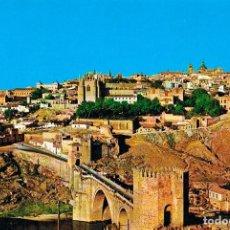 Postales: TOLEDO, PUENTE DE SAN MARTIN Y VISTA PARCIAL. Lote 228007015