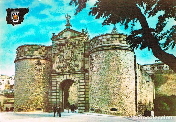 TOLEDO, PUERTA VISAGRA, EDITADA EN 1963 (Postales - España - Castilla la Mancha Moderna (desde 1940))