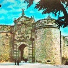Postales: TOLEDO, PUERTA VISAGRA, EDITADA EN 1963. Lote 228007595