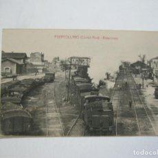 Postales: PUERTOLLANO-ESTACIONES DEL FERROCARRIL-EDICION E.MALAGON-POSTAL ANTIGUA-(76.418). Lote 229610215