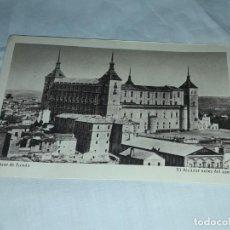 Postales: ANTIGUA POSTAL ALCÁZAR TOLEDO EL ALCÁZAR ANTES DEL ASEDIO SIN CIRCULAR. Lote 231015045