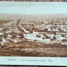 Postales: HELLIN - ALBACETE - MARIANO ARAMBURO. Lote 231145760