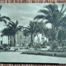 Postales: HELLIN - ALBACETE - JARDIN - MARIANO ARAMBURO. Lote 231146135
