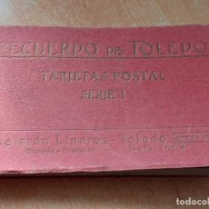 Postales: RECUERDO DE TOLEDO / TARJETAS POSTALES / SERIE I / ABELARDO LINARES / TOLEDO / MANCHAS DEL TIEMPO.. Lote 233240225