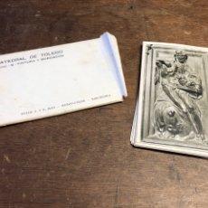 Postales: 18 TARJETAS POSTALES EN BLANCO Y NEGRO DE LA CATEDRAL DE TOLEDO. Lote 234628640