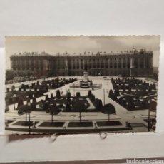 Postales: B) 3 MADRID, PLAZA DE ORIENTE Y PALACIO NACIONAL, EDICIONES PANORÁMICAS. Lote 235551095