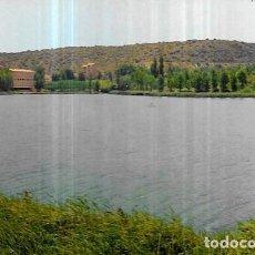Postales: POSTAL * LAGUNAS DE RIUDERA, LAGUNA COLGADA Y HOTEL *1974. Lote 235567115