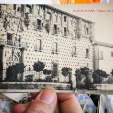 Postales: POSTAL GUADALAJARA PALACIO DEL INFANTADO EDICIÓN CAMARILLO S/C. Lote 237367850