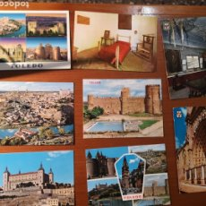 Postales: 8 POSTALES CASTILLA LA MANCHA (TOLEDO). Lote 238490490